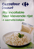 Riz incollable 4 sachets 500 g Carrefour Discount - Product