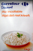 Riz incollable 1Kg Carrefour Discount - Product