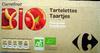Tartelettes Framboise Bio Carrefour - Product