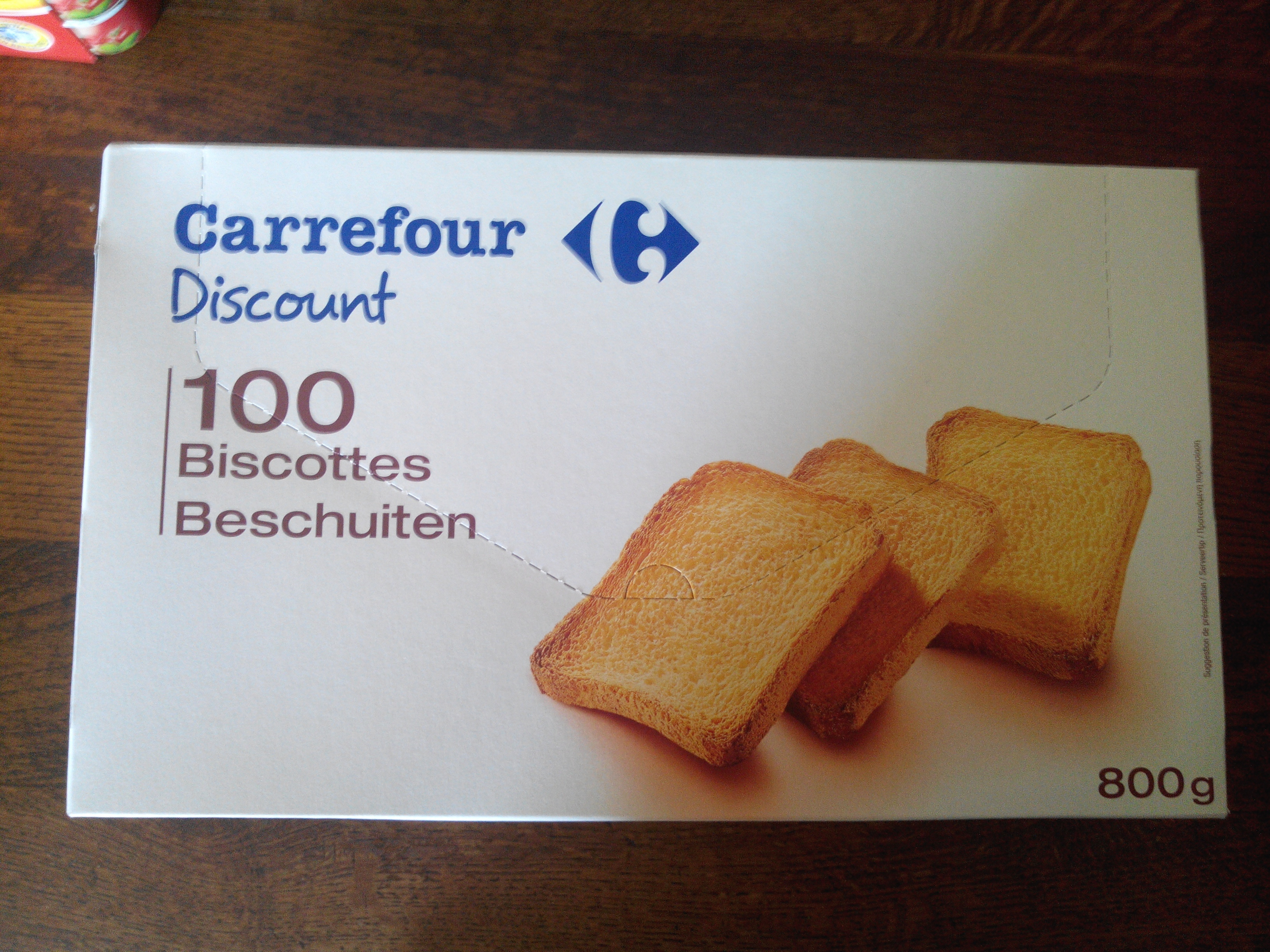 100 Biscottes - Product