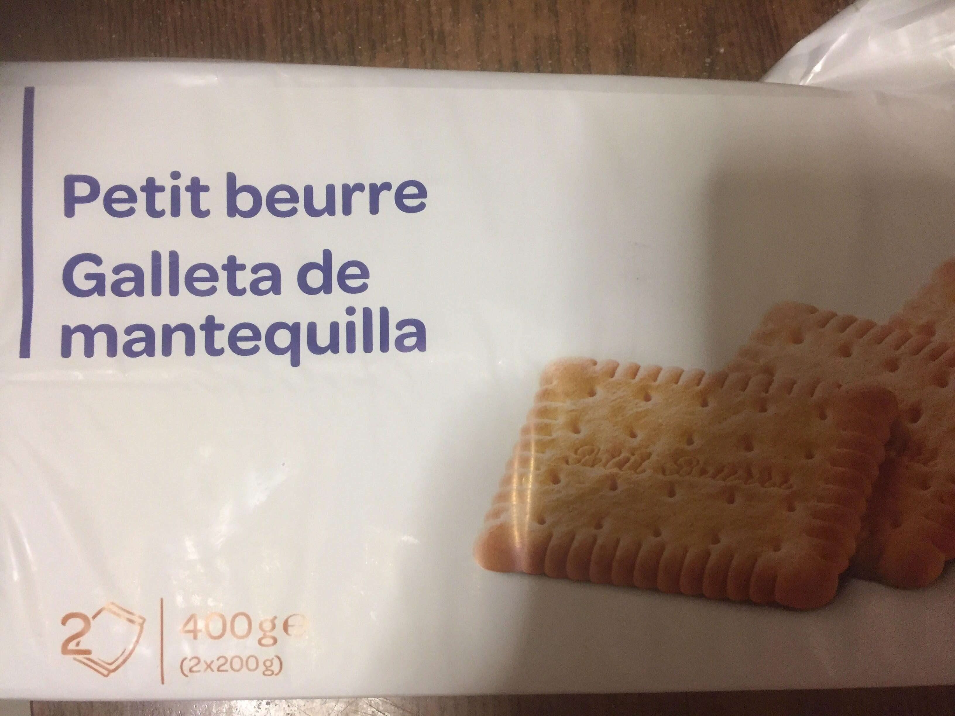 Petit beurre - Producto - es