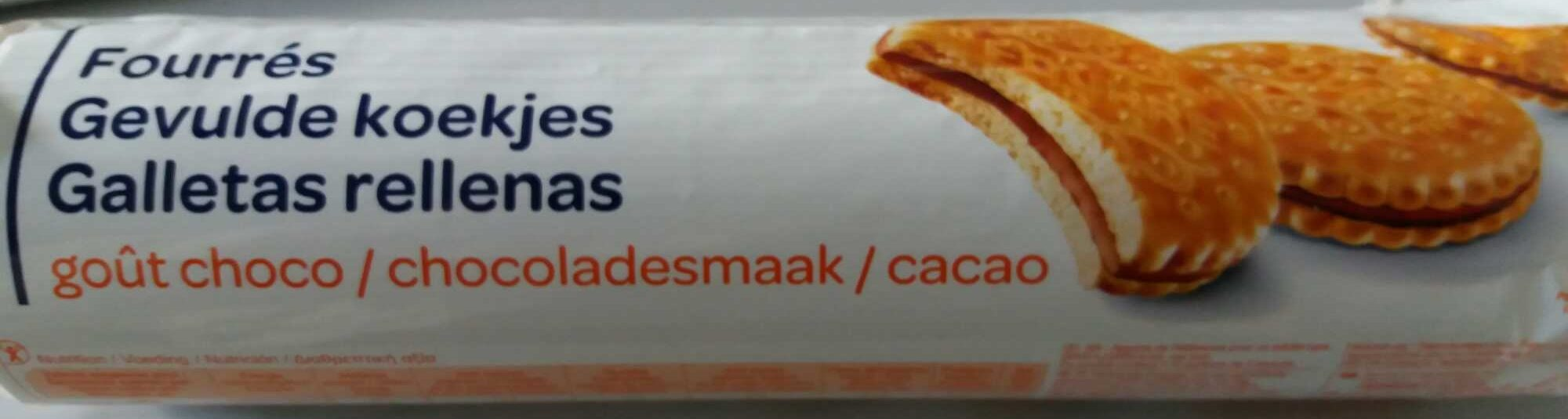 Fourrés goût choco - Produit - fr