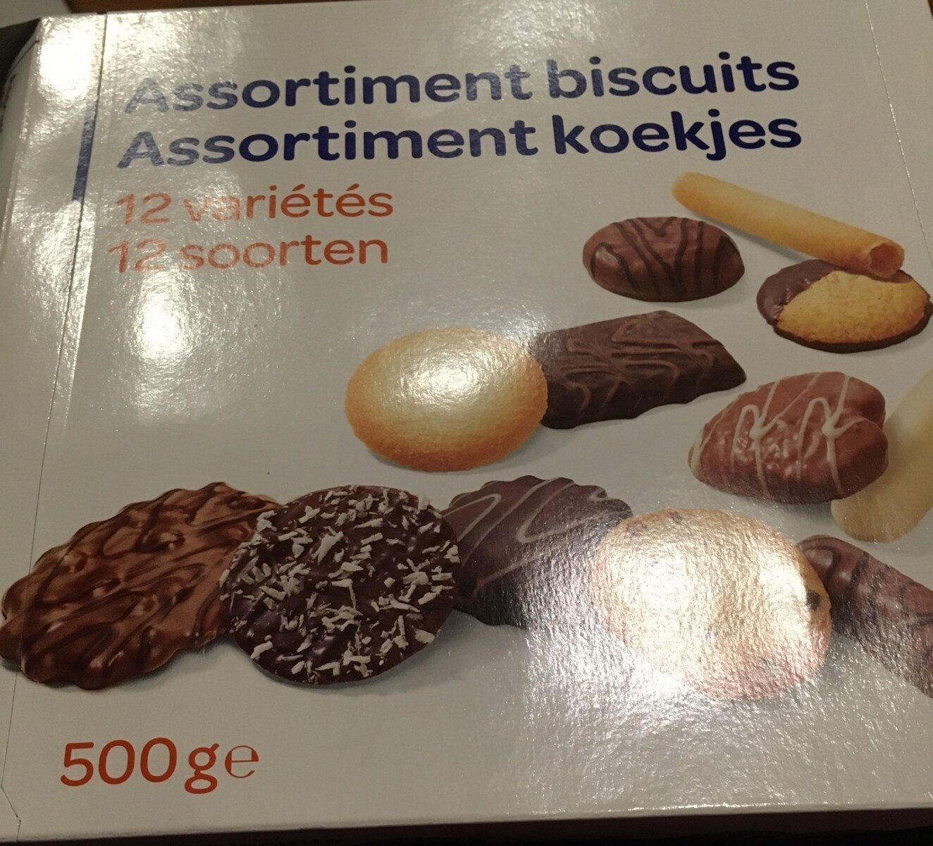 Assortiment de biscuits - Product - fr