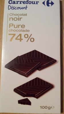chocolat noir 74% - Product