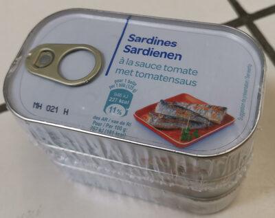 Sardines à La Tomate 125g x3 - Product - fr