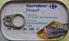 Sardines à l'huile de tournesol (Lot de 3 boîtes 1/4) - Product