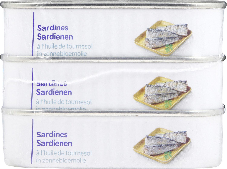 Sardine à l'huile de tournesol - Product - fr