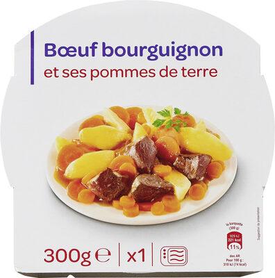 Bœuf bourguignon et ses pommes de terre - Produit - fr