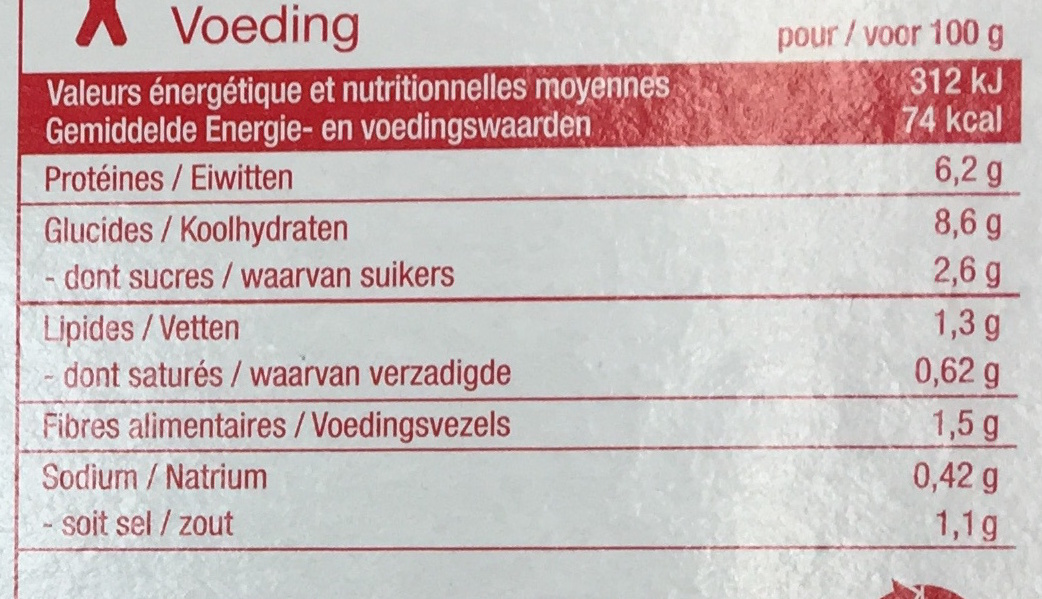 Bœuf bourguignon et ses pommes de terre - Informations nutritionnelles - fr