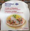Colin d'Alaska sauce citron et riz safrané - Produit