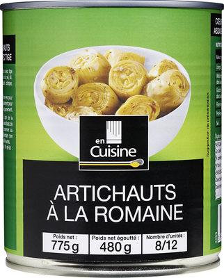 Artichauts à la romaine - Product - fr