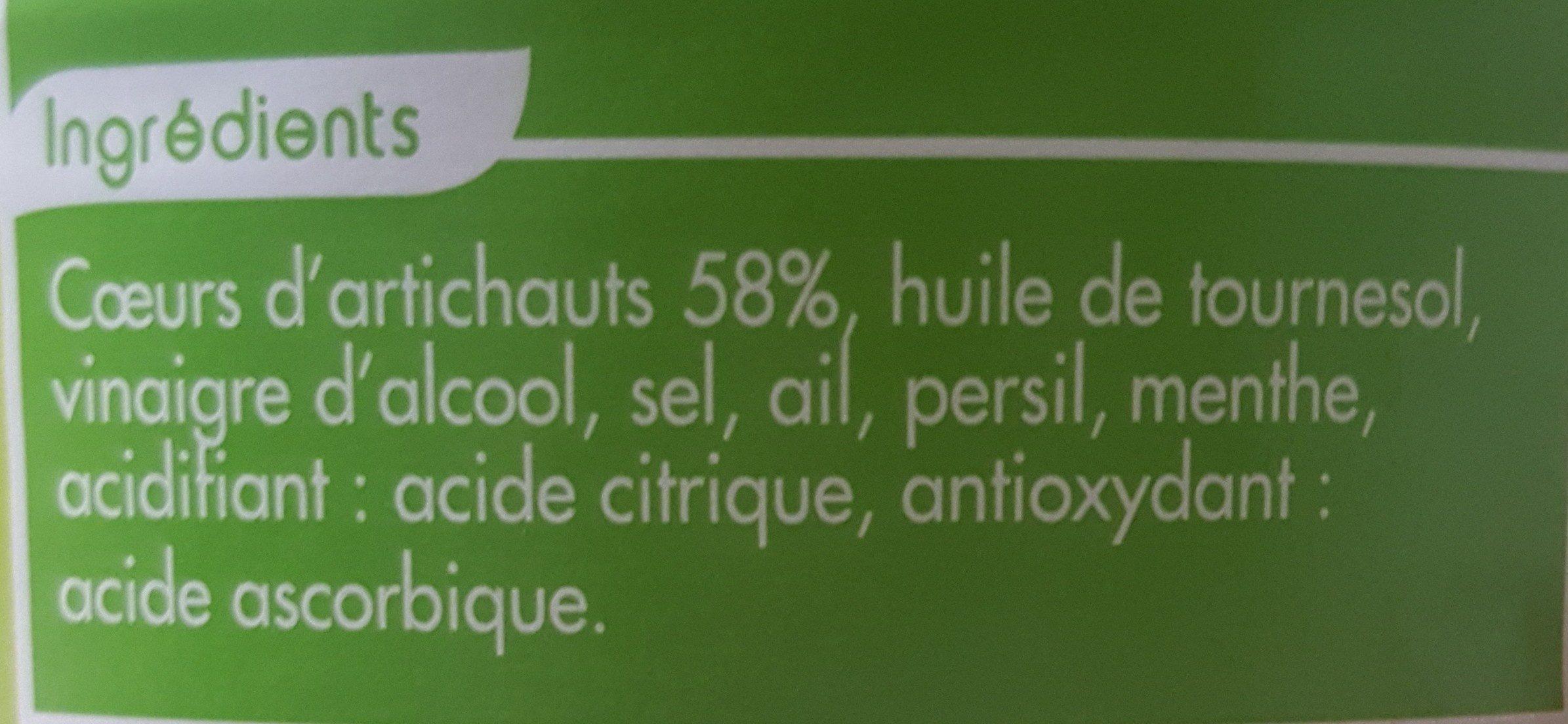 Artichauts à la romaine - Ingredients - fr