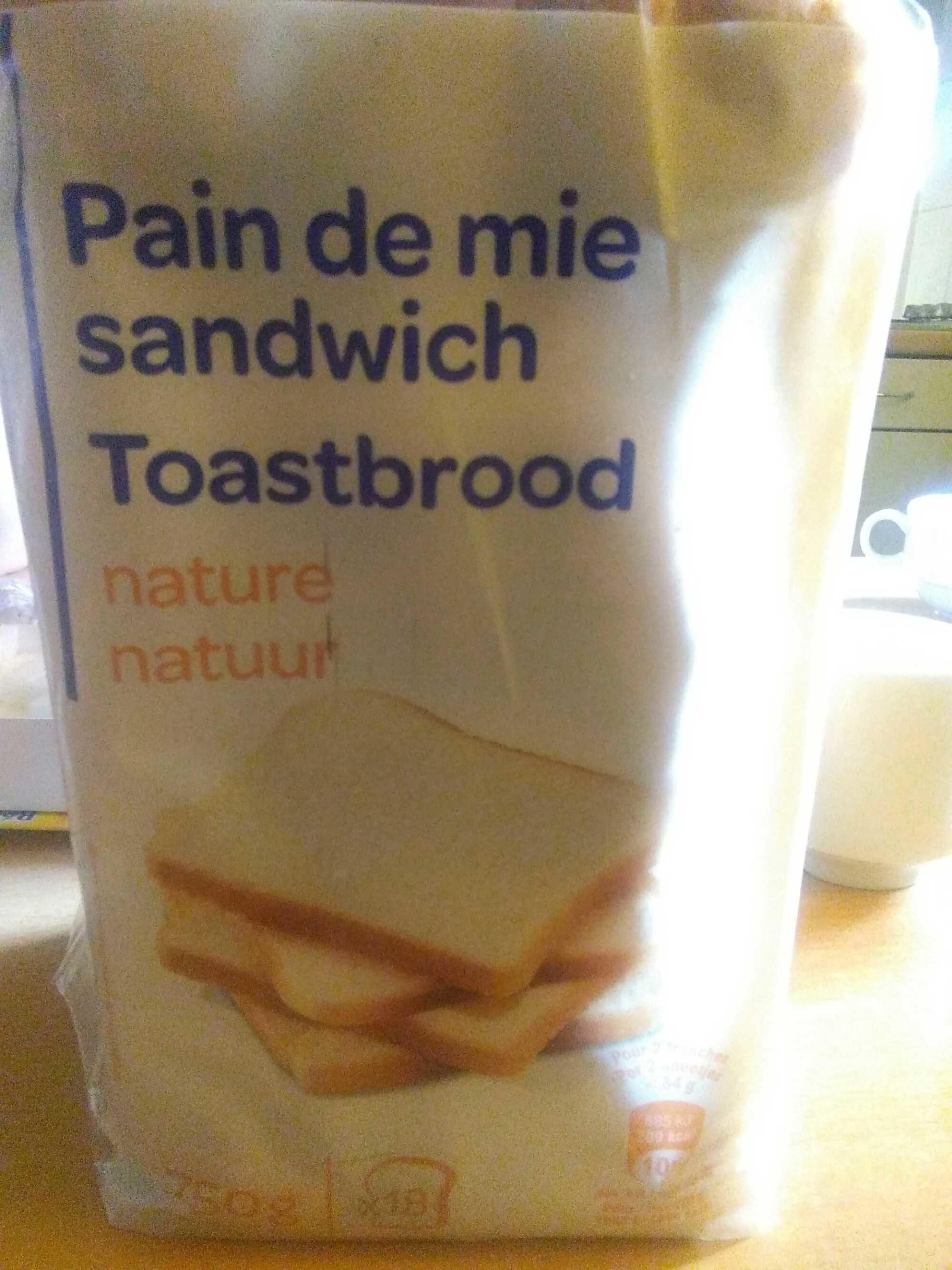 Pain de mie sandwich - Product