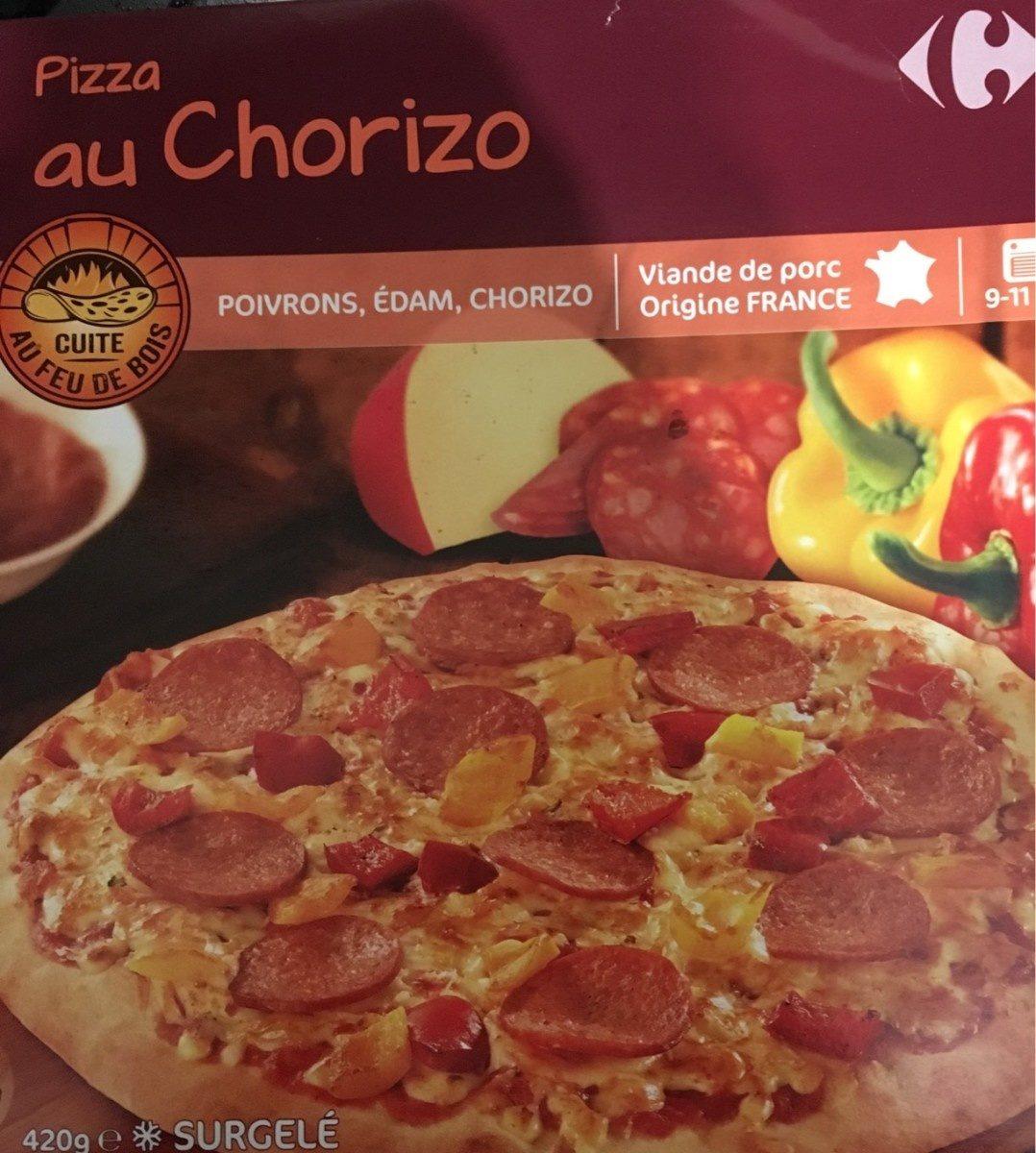 Pizza Vesuvio cuite au feu de bois - Produit - fr