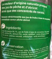 Saveur  pêche abricot - Ingrédients - fr