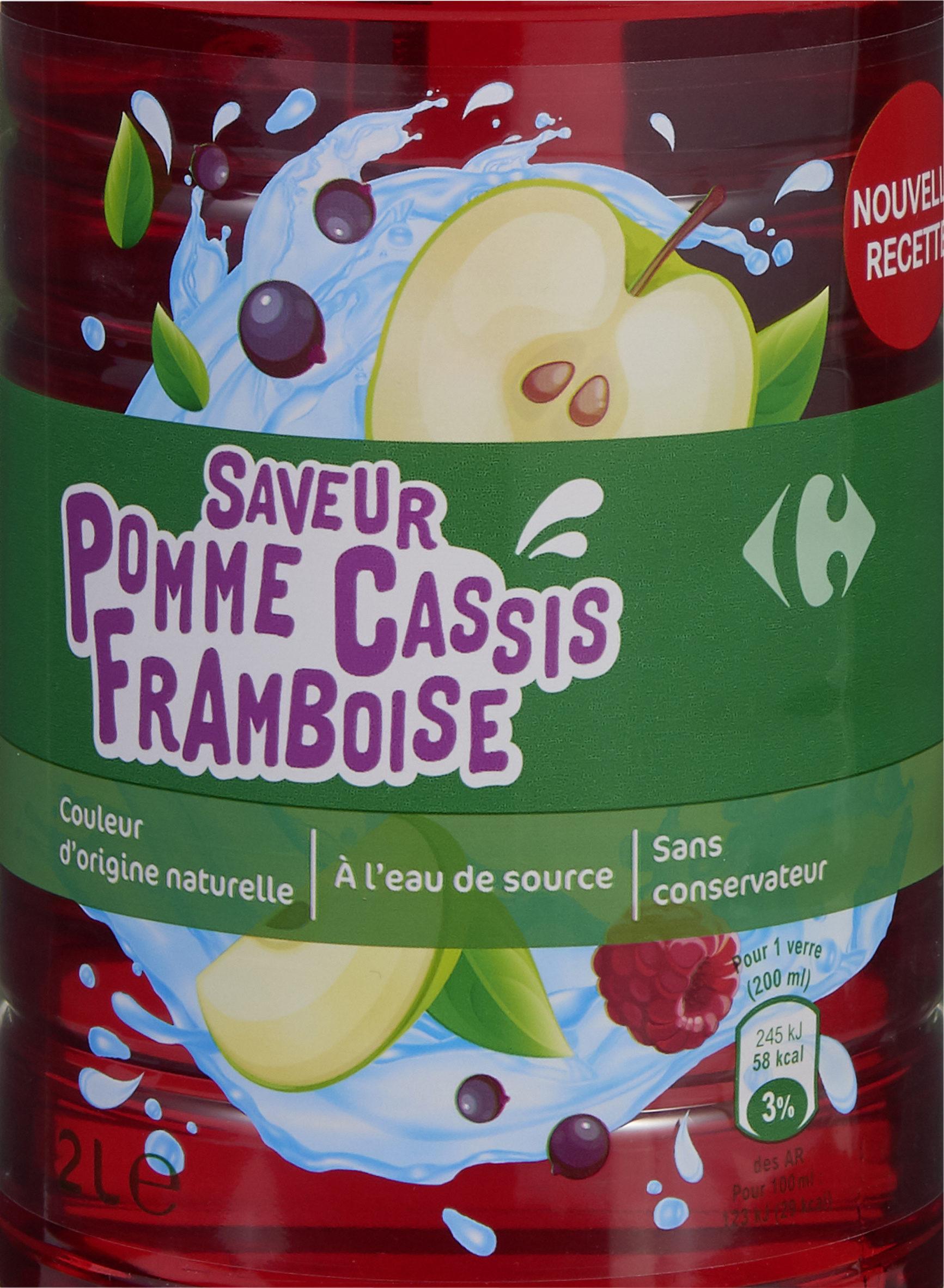 Saveur pomme cassis framboise - Produit - fr