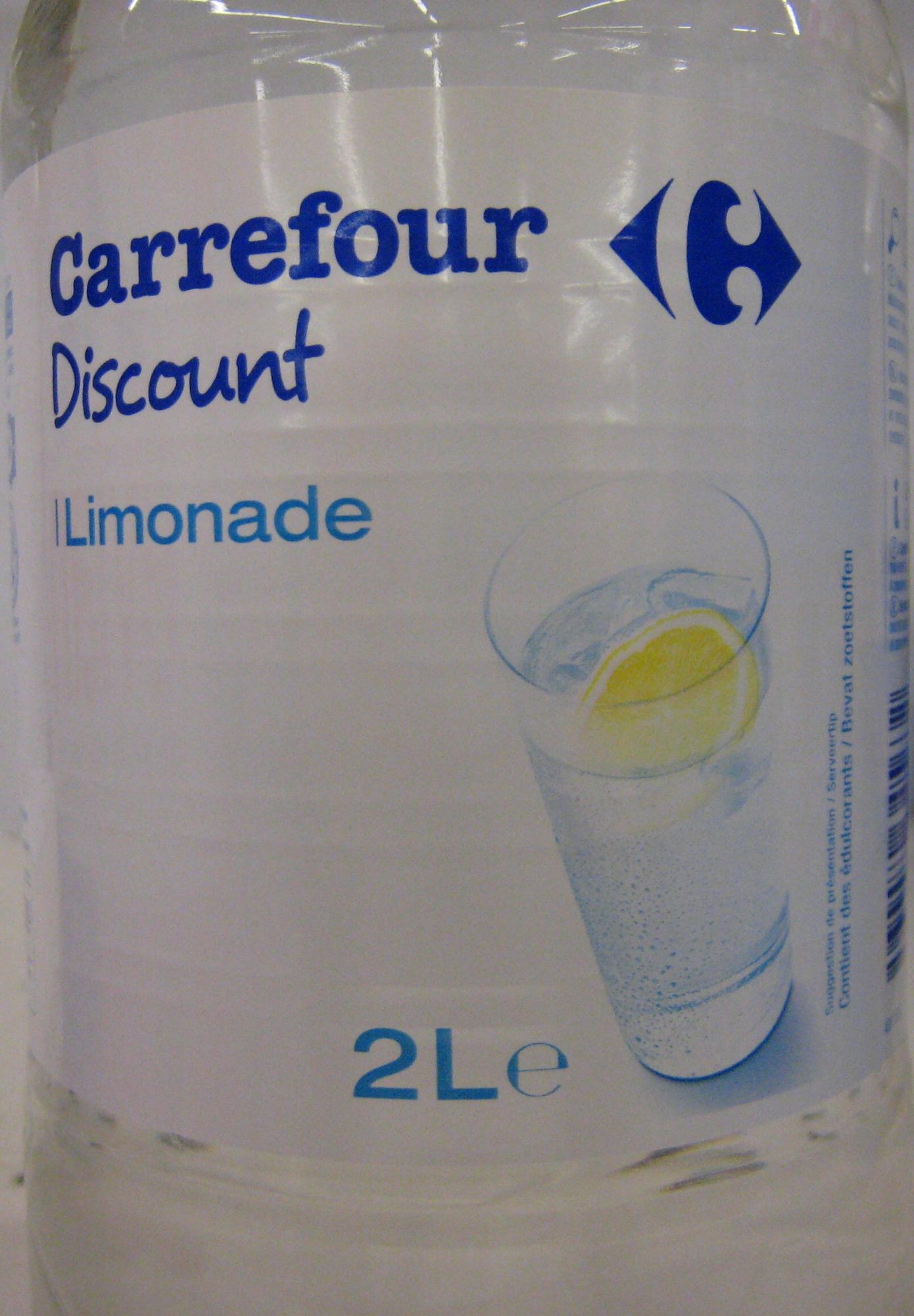 Limonade Carrefour Discount - Produit - fr