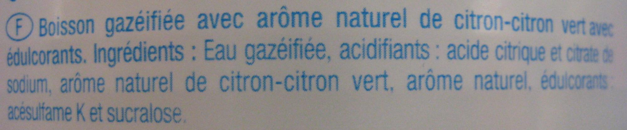 Limonade Carrefour Discount - Ingrédients - fr