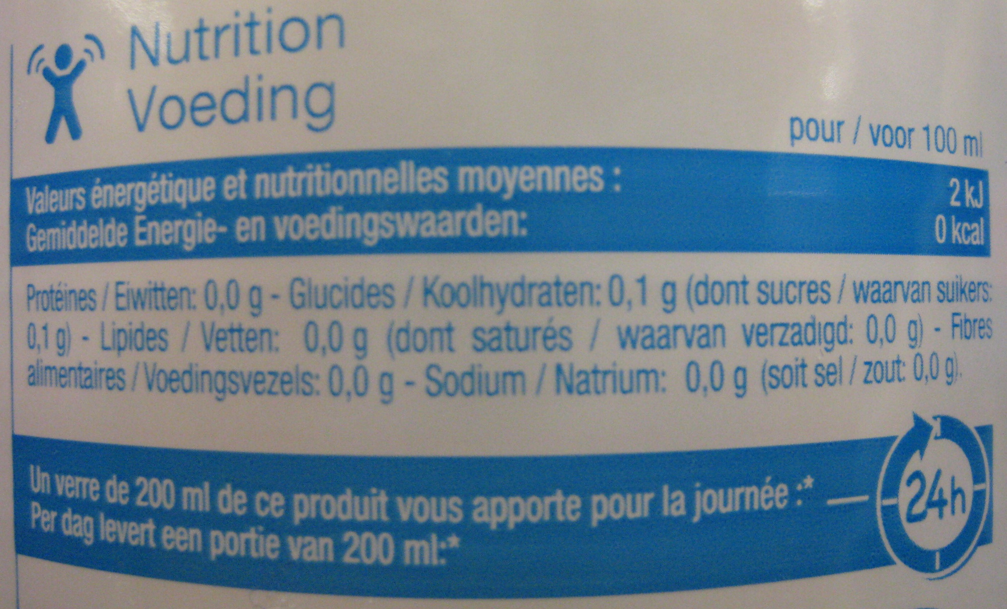 Limonade Carrefour Discount - Informations nutritionnelles - fr