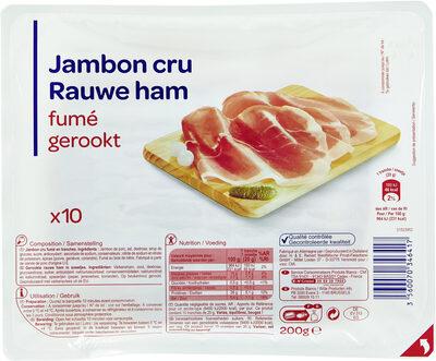 Jambon cru fumé - Produit - fr