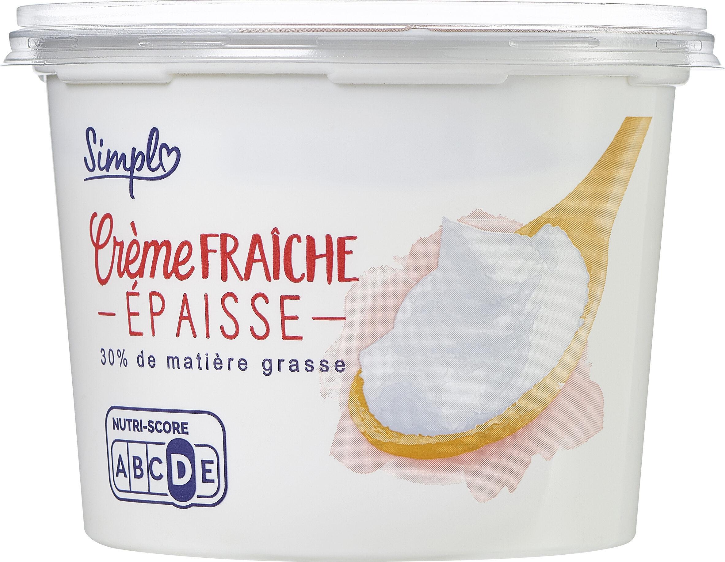 Crème fraiche épaisse - Prodotto - fr