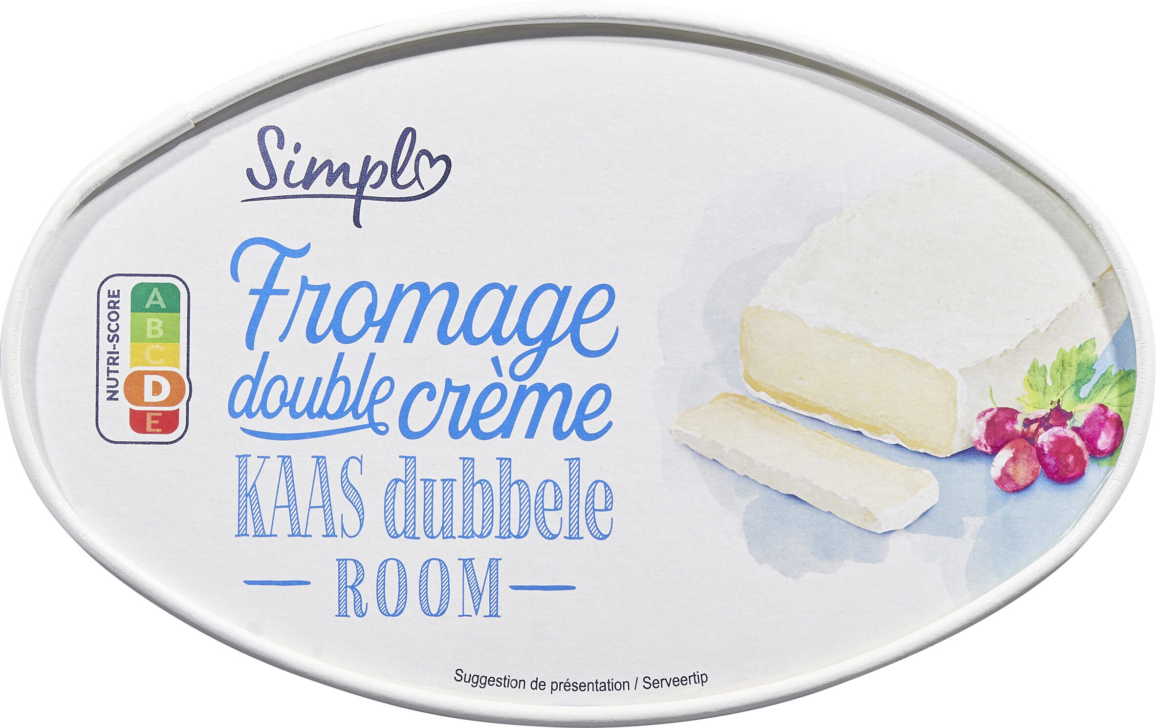 Fromage double crème - Product - fr