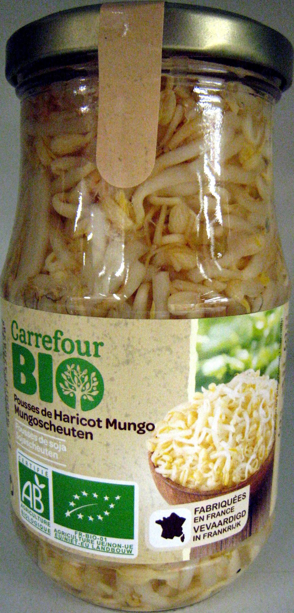 Pousses de haricots mungo soja bio carrefour 330 g - Cuisiner des pousses de soja ...