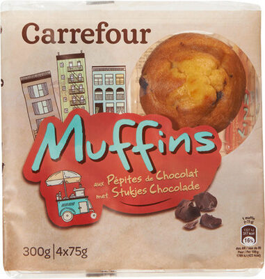 Carrefour Disc. Muffins Pepites - Prodotto - fr