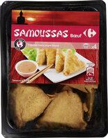 Samoussas bœuf - Product - fr