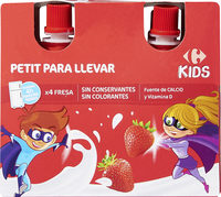 Fromage Frais Pocket Fraise - Producto - es