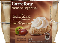 Mousse à la Liégeoise - Produit - fr