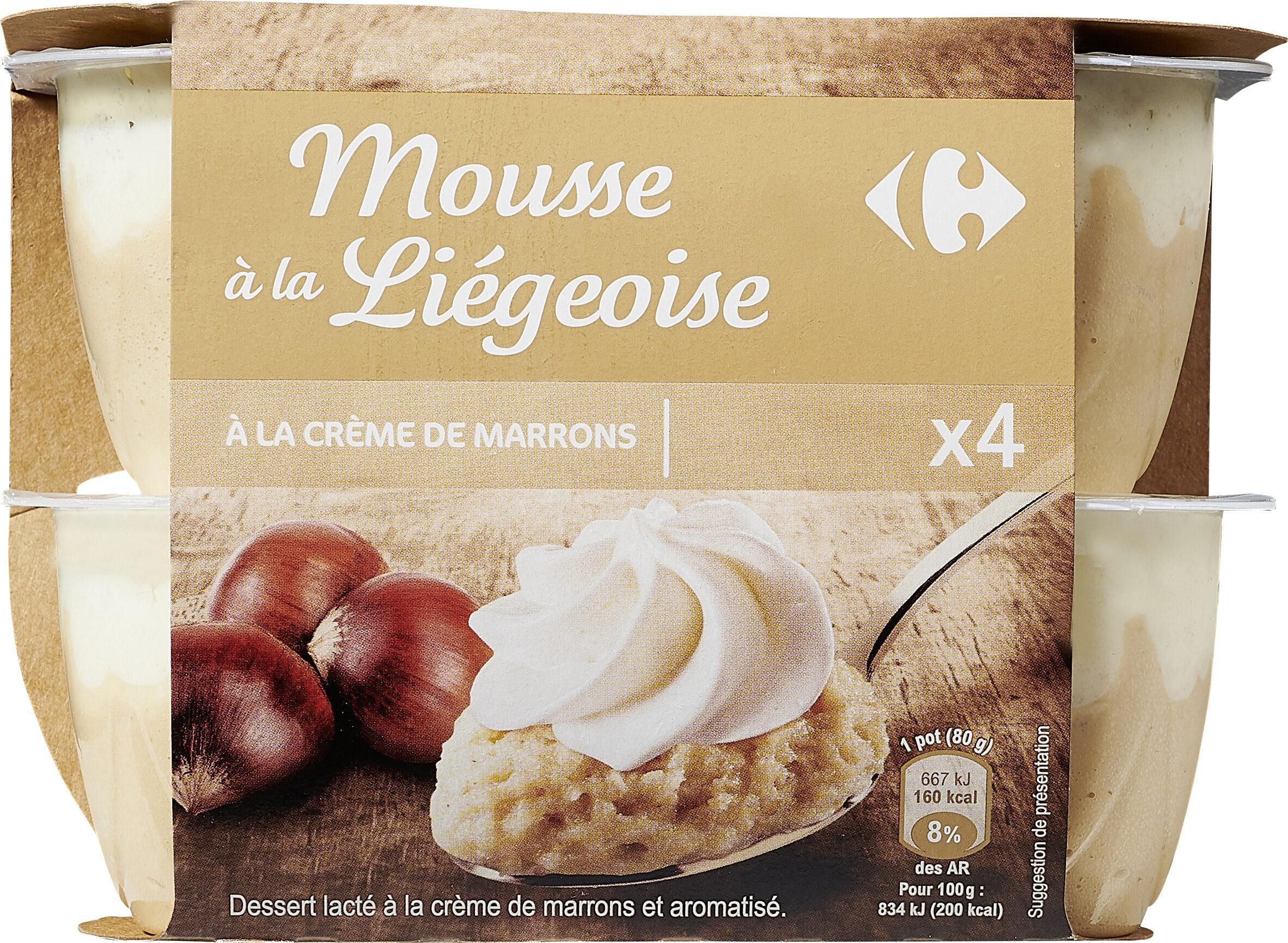 Mousse à la Liégeoise - Product - fr