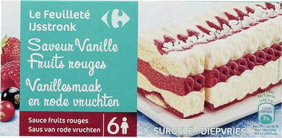Le feuilleté Saveur vanille fruits rouges - Product