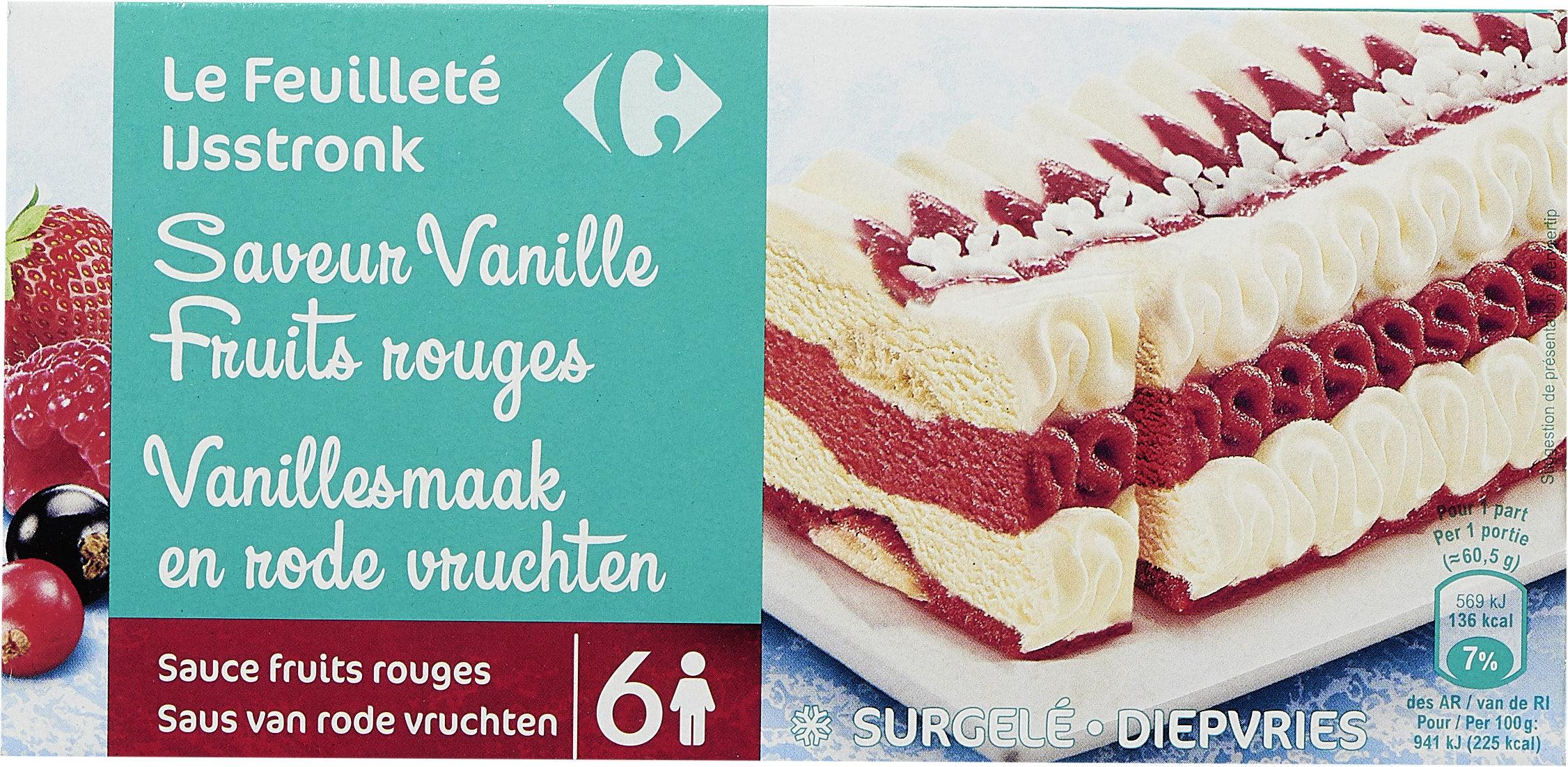 Le feuilleté Saveur vanille fruits rouges - Product - fr