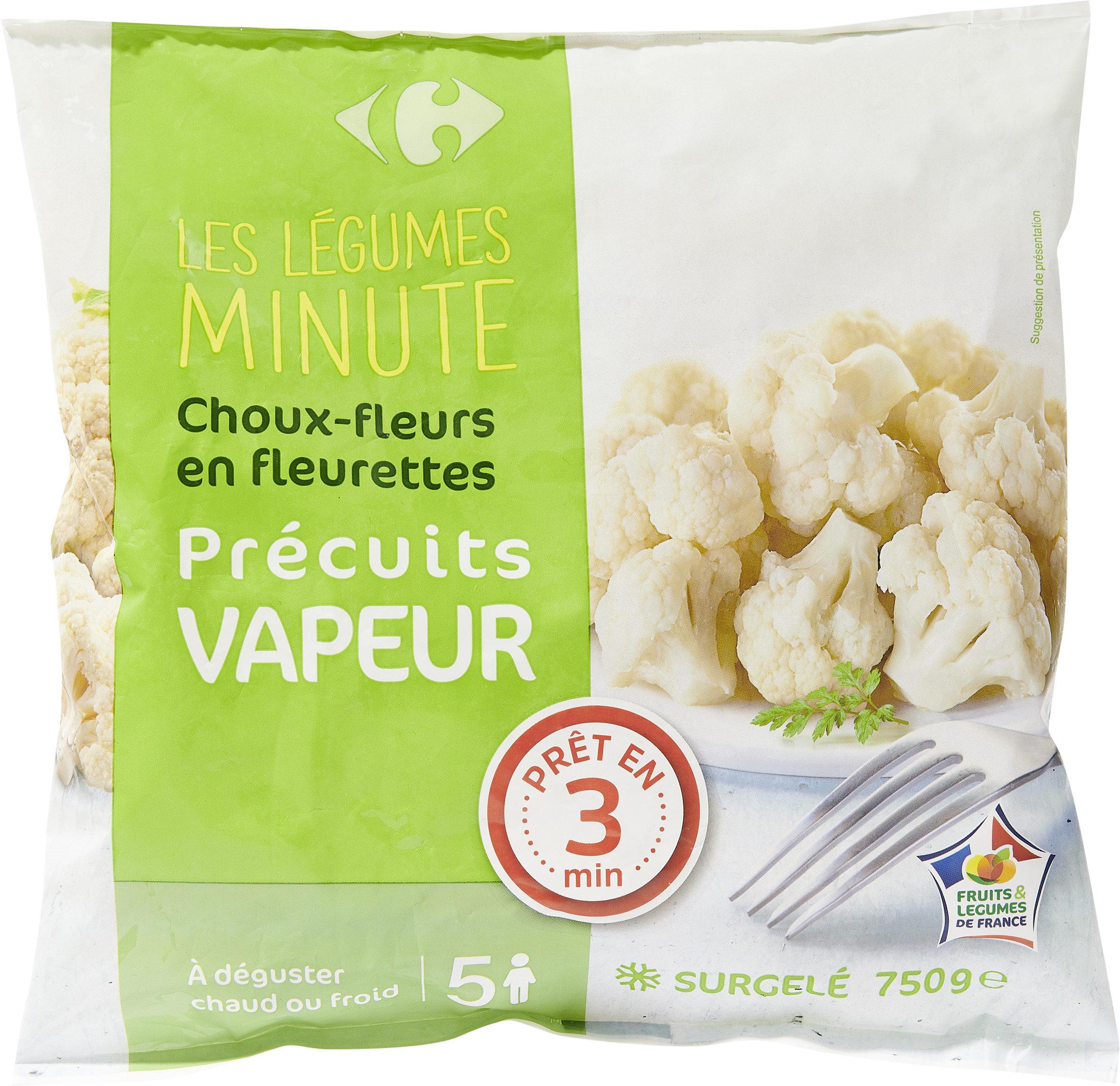 Les légumes minuteChoux-fleurs en fleurettes - Product