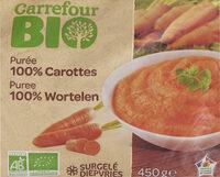 Purée 100% Carottes - Product - fr