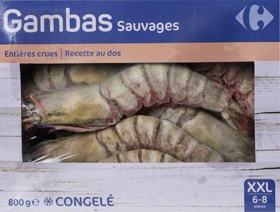 Gambas sauvages - Produit