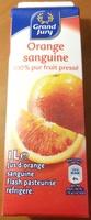 Orange sanguine, 100 % pur fruit pressé - Produit