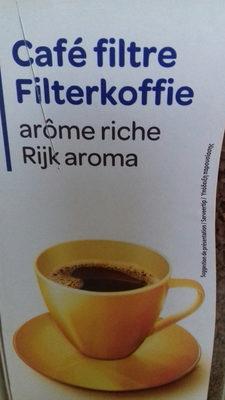 Café filtre - Valori nutrizionali - fr
