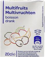 Multifruits, boisson - Prodotto - fr