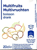 Multifruits, boisson - Produit - fr