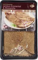 Galette de blé noir jambon emmental mozzarella - Produit