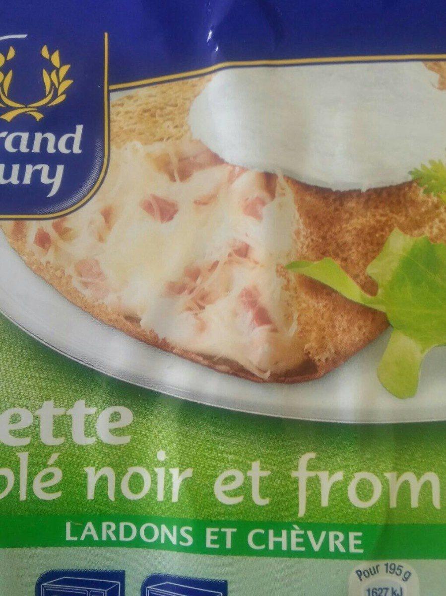 Galette de blé noir et fromage Lardons et Chèvre - Product