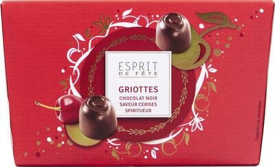 Griottes chocolat noir cerises spiritueux - Prodotto - fr
