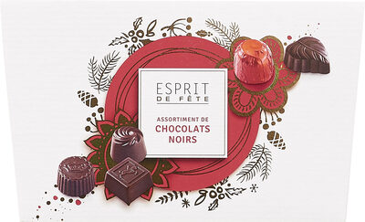 Assortiment de Chocolats Noirs - Product - fr