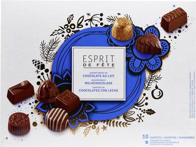 Assortiment de chocolats au lait - Producto