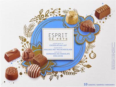 Assortiment de chocolats au lait - Producto - fr