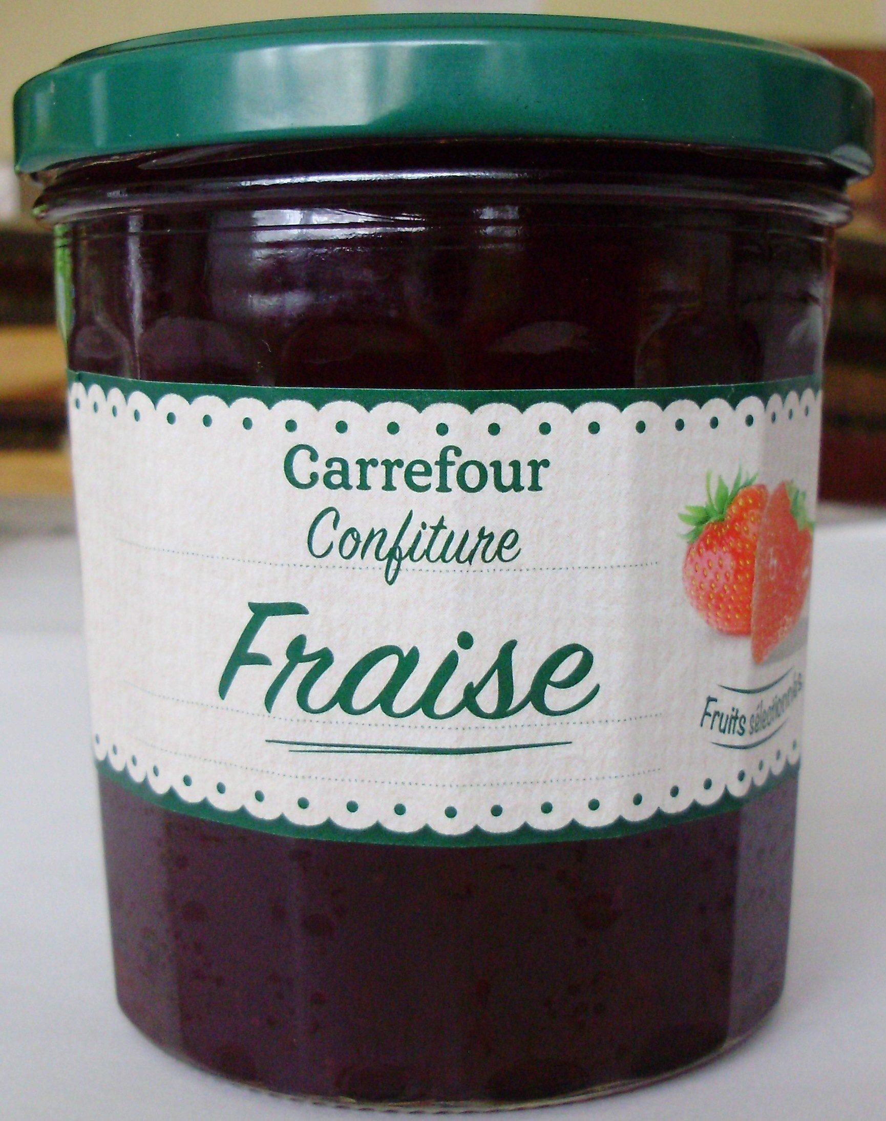 Confiture Fraise - Produit - fr