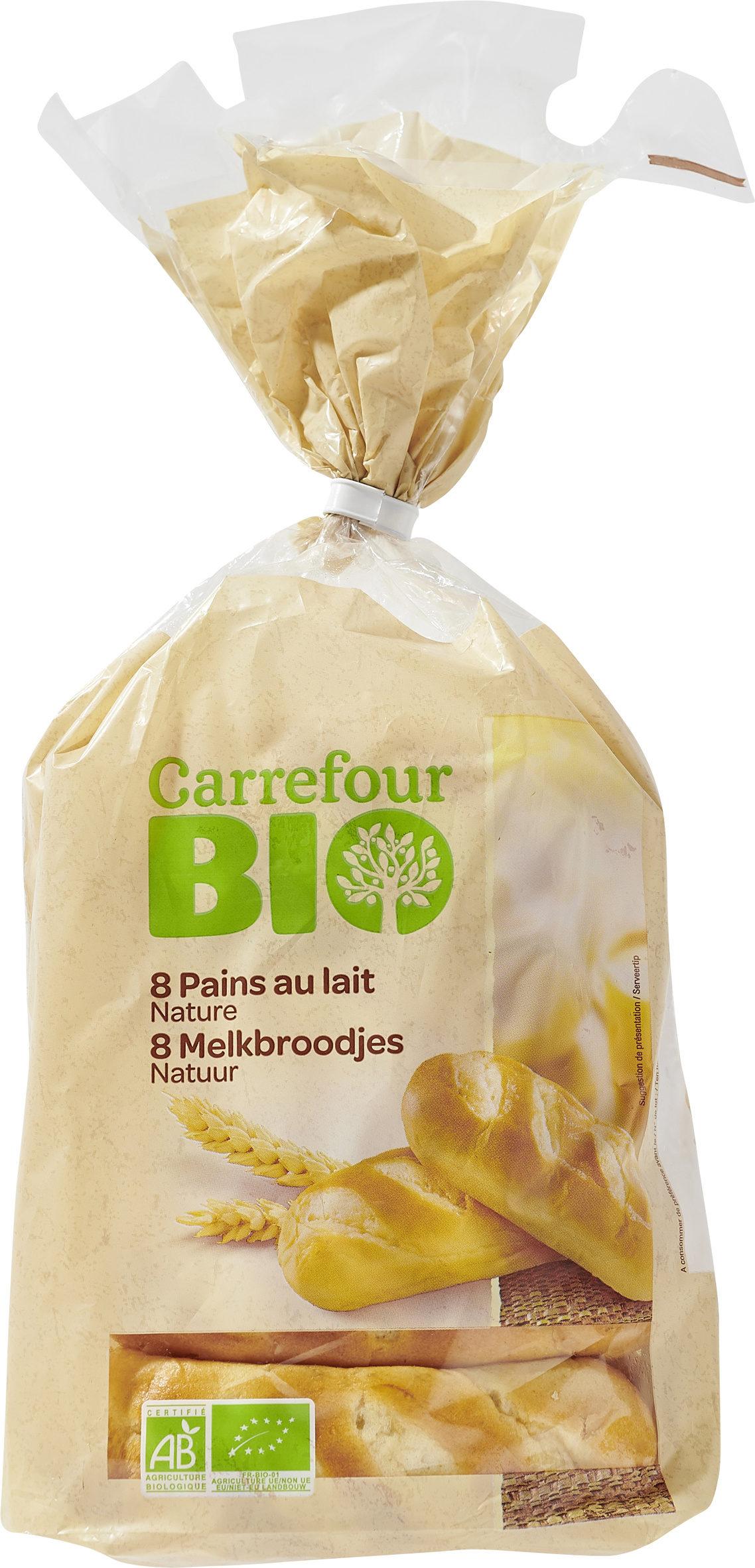 8 pains au lait nature - Produit - fr