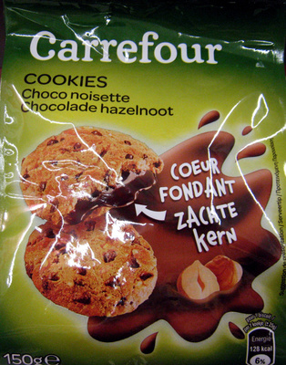 Cookies Choco noisette Cœur Fondant - Product - fr